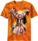 Mad Engine Marvel Silver Surfer Men's Tee Shirt Cosmic Wave Orange