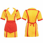2 Broke Girls Fancy Dress Costumes TV Series Cosplay Womens Party Dresses 6 - 20