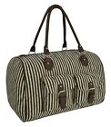 New Womens Canvas Weekend Bag Ladies Hand Luggage Travel Overnight Cabin Bag UK