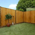 Wooden Garden Fencing Panels Vertical Lap Feather Edge Fence 3ft 4ft 6ft x 6 New