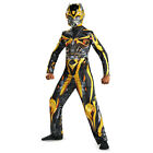 Boys Transformers Bumblebee Classic Movie Costume