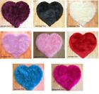 Fluffy Faux Fur washable Rug Heart Shape / Love Heart Rugs for Living / Bedroom