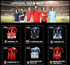 PERSONALISED FOOTBALL SHIRTS OFFICIAL MERCHANDISE NAME AND NUMBER PRINTED/PLAIN