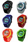 OHSEN Mens Boy's Sport Wrist Watch Water Proof Multifunction LED Silicon Watches