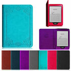 Folio Leather Auto Wake / Sleep Case Cover for 6 Amazon All New Kindle Paperwhite
