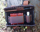 Medieval/Larp/SCA/Pagan/Re enactment/Gothic/Steampunk SMALL LEATHER WRITING SET