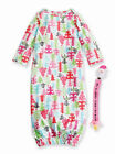 Mud Pie Holiday Christmas Tree Gown & Pacy Clip Baby Girl 3M-6M #1112198