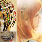 Hot Women Girls Crystal Headband Rhinestone Daily Party Hair Head Band