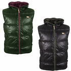 Mens Gilet Humor New Padded Quilted Jacket Bodywarmer Coat WAS £45 NOW £31.50