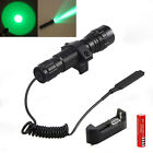 Rechargeable 5000LM CREE T6 Whit /Green LED Tactical Flashlight Torch 18650 Lamp