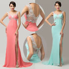 New Sexy Split Design Evening Party Ballgown Bridesmaid Long Prom Cocktail Dress
