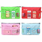 Ladies Insert Handbag Cosmetic Purse Pouch Large Organizer Tidy Travel Bag