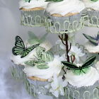 3D Butterflies - Mint Green -  Weddings, Invitations, Cards, Cakes, Toppers