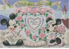 Counted Cross Stitch Pattern or Kit, Disney Mickey and Minnie, wedding, love