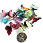 Mini - Small Butterflies - 3D, 12 Colours to choose from, Bouquets, Toppers