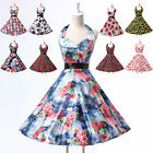 CHEAP NEW Rockabilly 50s 60s Flower Print Vintage Pin Up Day Day Evening Dress 1