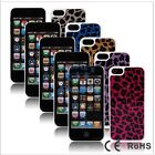 5 Colors Sylish Gliter Crystal Bling Diamonds Back Hard Case Cover For Iphone 5
