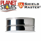 Stainless Steel Shieldmaster Tee Cap For Twin Wall Insulated Flue Pipe