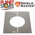 Stainless Steel Shieldmaster 0-30 Degree Finishing Plate Twin Wall Flue Pipe