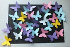 Butterfly die cut shapes Multi Listing Assorted Colours Shapes Designs