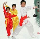 Bruce Lee Chinese wushu martial arts kids Adult Uniform kung fu Suit Costume