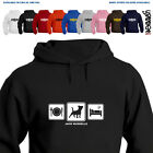 Jack Russell Terrier Dog Lover Gift Hoodie Hooded Top Jack Russells Daily Cycle