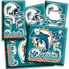 MIAMI DOLPHINS NFL SUPER BOWL CHAMPIONS FOOTBALL LIGHT SWITCH OUTLET WALL PLATE