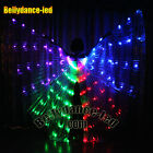 LED isis wings rainbow belly dance club wear live show cosplay prop wholesale