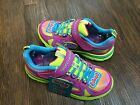 NEW Skechers 80428 Girl Sneakesr Neon Pink Color Slip On Light Weight 10.5--3