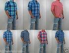 NWT HOLLISTER By Abercrombie Men Slim Fit Malibu Classic Casual Plaid Shirt New