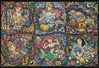 Counted cross stitch pattern or kit, Disney princess, Stained glass, ariel