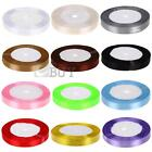 """1/2"""" 12mm 50 Yards Silk Ribbon Wedding Party Favor Decor Craft Gift Wrapping"""
