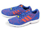 Adidas Originals ZX Flux Weave Blue/Solar Red/White Lifestyle Casual 2014 M21362