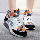 Womens Trainers Sneakers Flats Heels Lace Up Hiking Creeper Shoes Ankle Boots