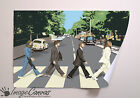 BEATLES ABBEY ROAD VECTOR GIANT WALL ART POSTER A0 A1 A2