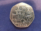 Rare Collectable Commemorative Circulated £0.50 (50p) British Coins (1994-2015)