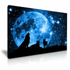 NEW ANIMAL Wolf 2 Canvas Framed Printed Wall Art ~ More Size