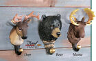 Collections Etc Woodland Animal Head Wall Hooks