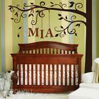 Half Big Tree Wall Decal for Wall Corner - Cheap and Chic Nursery wall sticker