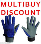 Chamois Leather Velcro Work Gloves Drivers,Mechanic,Sports FROM ONLY £2.39