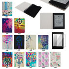 "New Style PU Leather Flip Folio Case Cover Skin For 6"" Amazon Kindle Paperwhite"