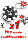Playboy Bunny Poker Chip 316L Surgical Steel Screw Fit Ear Flesh Plug Tunnel