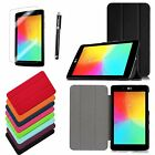 Ultra Slim Leather Stand Case Smart Cover for LG G Pad 7.0 inch Tablet V400 V410