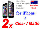 Front & Back Clear Matte Anti-glare Mirror Screen Protectors, Apple all Models