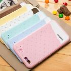 Cute ice Cream Soft Silicone Case Cover Hand Strap For Apple iPhone 6 Air 4.7