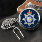 MOD Police Ministry of Defence Full Hunter Pocket Watch