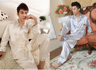 Hot Sale Chinese Style Men's Suit Leisure Wear Kimono Bath Robe Night Robe Gown
