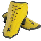 Precision Training Vortex Slip-in Pads Shinguards Yellow/Black Football