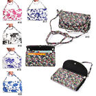 Fashion Style Flowers Printing Pattern PU Leather Pouch Wallet Guard Case Cover