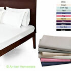 100% EGYPTIAN COTTON FLAT SHEETS SINGLE DOUBLE KING SUPERKING 200 THREAD COUNT